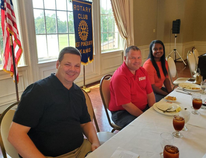 Hootens 2019 Head Table: Luke, Barry, Nyeshia
